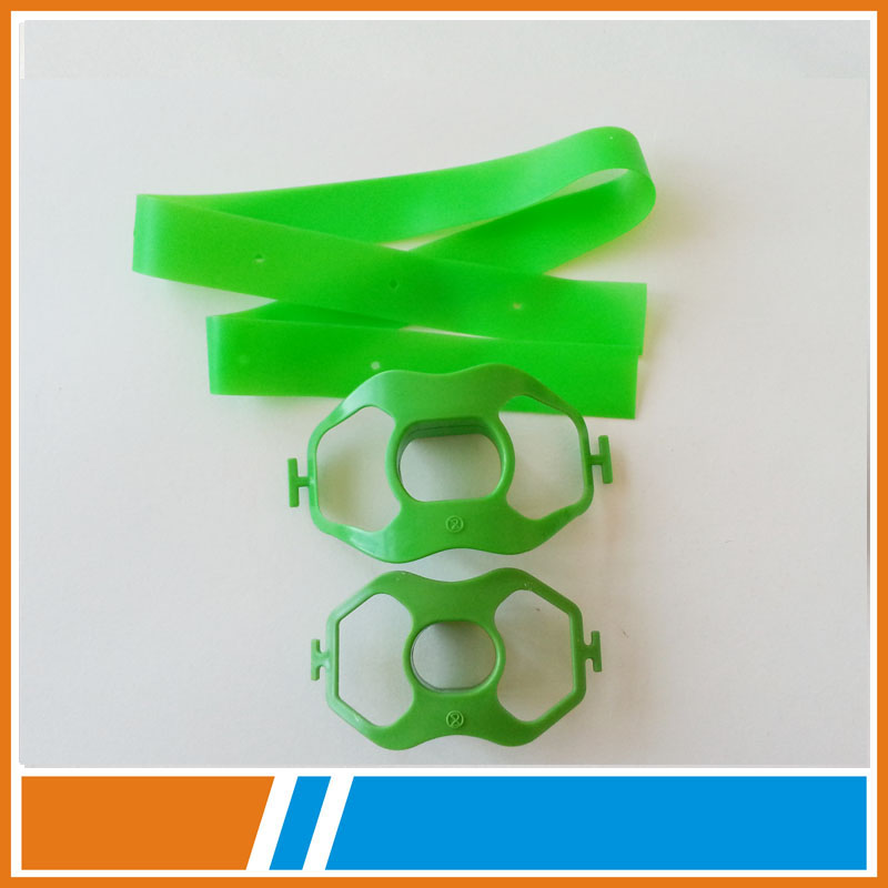 disposable plastic bite blocks of endoscope parts