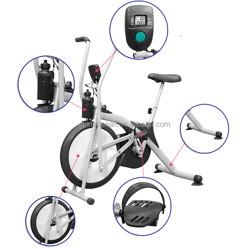 Cardio Exercise Bike Fitness Gym Workout Home Pulse Monitor