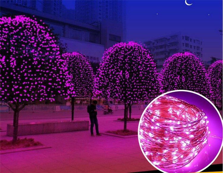 Guangdong World Uniqueen Wholesale 5M 50L Battery Power Fairy Copper Wire Led String Light