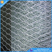 Wholesale anping galvanized hexagonal wire mesh / gabion box cheap price
