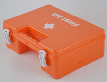plastic case first aid kit/empty wall mounted first aid box