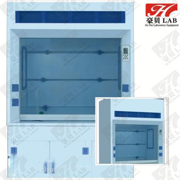 lab pp fume hood / table top fume hood / hood with fume scrubber