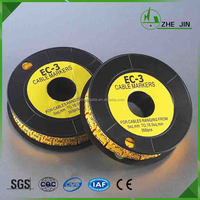 Zhe Jin High Quality With Most Favorable Cheap Price Ec Type Cable Wire Marker Strips