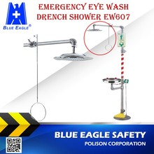Workplace Safety Supplies EW607 safety shower and eye wash