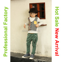 Korean style high quality kids fashion sporting clothes wholesale