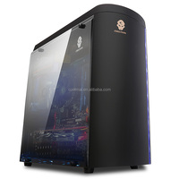 Korean New designing computer case and Power Supply ,Special designing gaming pc case -Micro-D black
