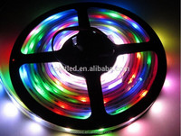 Magic full color WS2801 waterproof ip67 rgb leds smd 5050 lighting white pixel strip