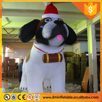 Fashion Christmas Plush Star Inflatable Dog