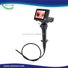 2.2 mm electronic working channel video durable flexible medical endoscope camera adapter