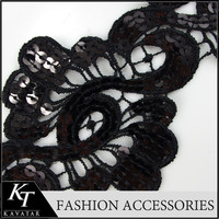 Fancy Style exclusive of trims embroidery lace trim design