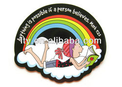 personalized soft pvc fridge magnet (M-C79)