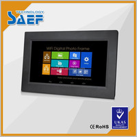 10.1 inch HD panel tft advertising display android signage advertising media player