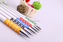 good quality fast writing school supplies wholesale low price cheap metal ball pen with custom logo pens
