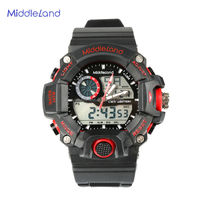 2015 New Plastic Cheap Health Care Smart MIDDLELAND Sports Watch