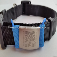 QR Code Dog Tags QR Code Pet Name Plate For Collar