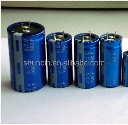Ultracapacitors electric double-layer capacitor CAP SUPER 3000F 2.7V SCREW Supercapacitor CDLC