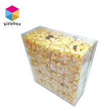 New Design Superior Quality Clear PVC Plastic Gift Sweets Candy Packing Box