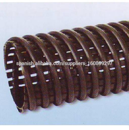Poroso corrugado perforado hdpe tubo de drenaje de 200 mm - Precio tubo corrugado ...
