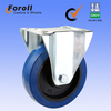 160mm fixed trolley caster wheel