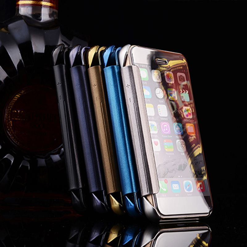 Factory wholesale cell phone case with mirror for iphone 5/5S 6/6S 7 7PLUS