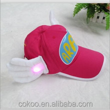 Party New Cute Dr.slump Arale Cap Adjustable Anime Hat Cosplay Costume Angel Wings