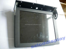 17 Inch DC 24V Network Wireless 3G WIFI HD Ad LCD Bus Screen