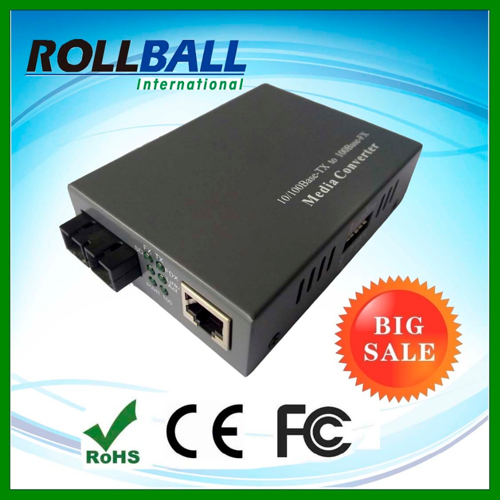 Made in China 10/100M up to 100km SC/ST/FC/SFP fiber port sm mm fiber optic media converters