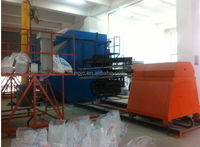 High quality planter mould plastic shuttle rotomolding machine