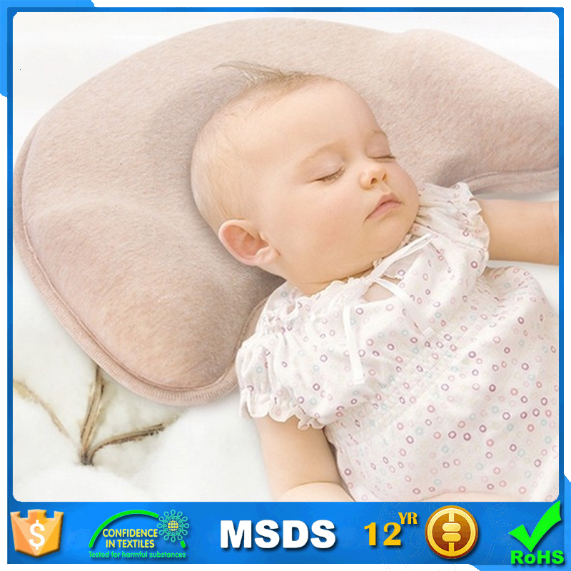 Good Quality Memory Foam Ventilated Infant Baby Side Pillow