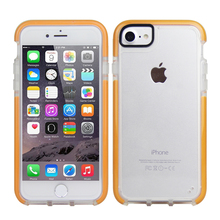 wholesale simple clear plastic protector case for iphone 7