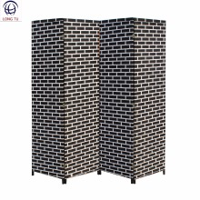 Two-side Paper Fiber Woven Movable Dubai Commercial Office Screens Room Dividers