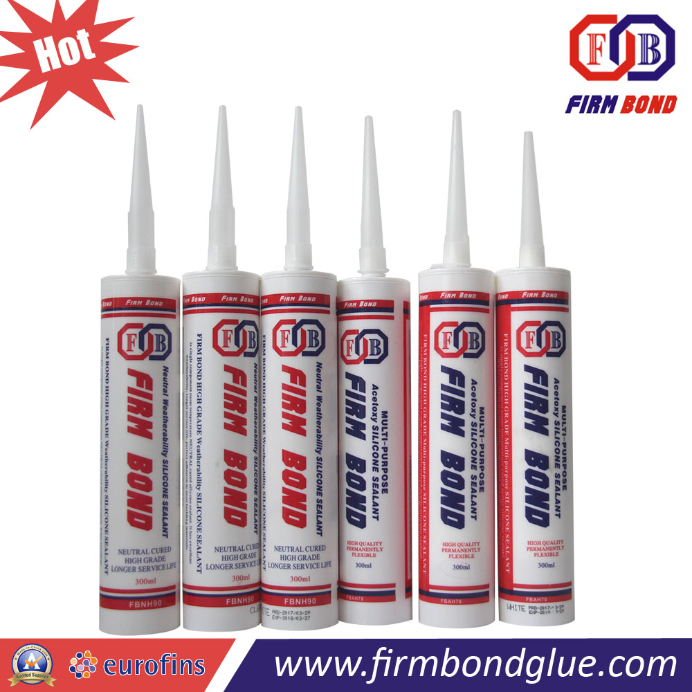 Factory Supply Low Shrinkage Massive Glass Silicone Sealant