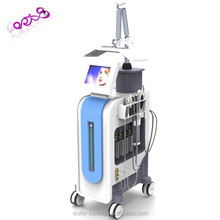 new oxygen therapy facial jet beauty machines with PDT LED light skin cleaning hydro device