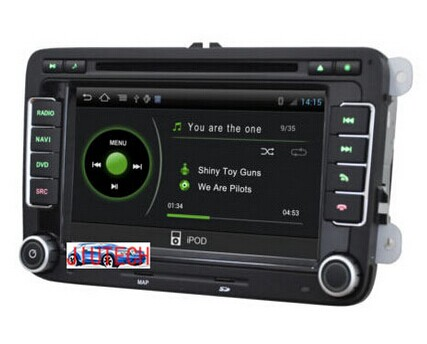 Android 5.1 car Stereo dvd player for VOLKSWAGEN Tiguan Polo Golf SEAT Altea SKODA Octavia DVD with 3G wifi