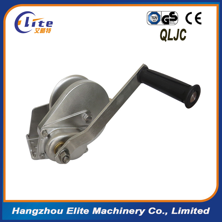 manual hand winch /wire rope hand winch /hand winch small