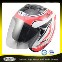 Wholesale funny open face motorcycle helmet 808