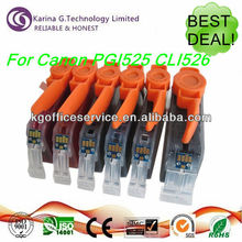 Best deal for Canon PGI-525 CLI-526 compatible color ink cartridges ,spares for Canon printer