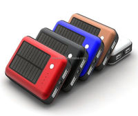 solar power bank 6600mAh mobile power bank T502