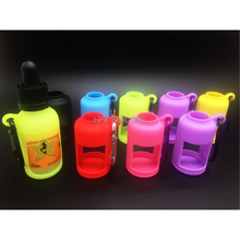 Travelling eco-friendly,waterproof silicone hand sanitizer bottle holder,cosmetic bottle case 30ML