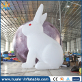 2017 huale Hot Sale Inflatable Rabbit For Advertising