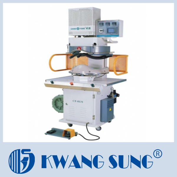 embossing machine for fabric