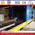 qingdao manufacturer supplier roller conveyor mild steel h beam shot blasting machine price for sale