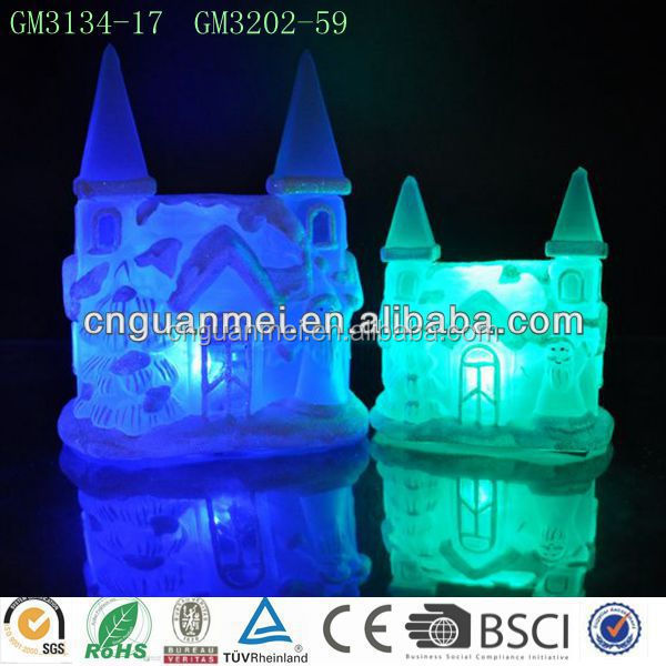 Wholesale Lovely LED Christmas Village Houses
