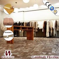 Top Quality laminate mdf wood floor
