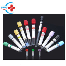 HC-K007 Factory price Vacuum Blood Collection Tube with PET and glass