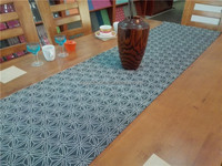 table runner,pvc woven placemats,table mats