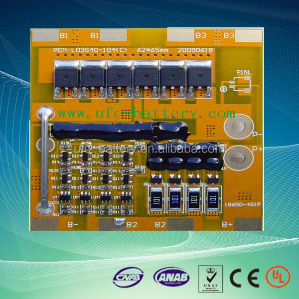 bms protection circuit board with balance function for 1s-16s li ion and LiFePO4 Battery Pack