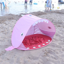 Portable UV Protection Pop Up Baby Beach <strong>Tent</strong> with Pool for Kids