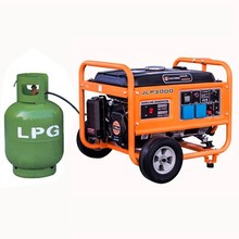3kw Small LPG Biogas Electric Gas Generator