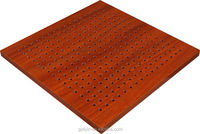 Studio mdf waterproof wooden perforated cheap acoustic panel